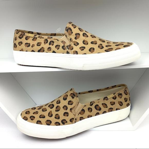 Keds Double Decker Leopard Sneakers
